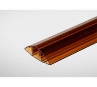 Профиль Центр Профиль 6-10 мм x6000 м янтарный